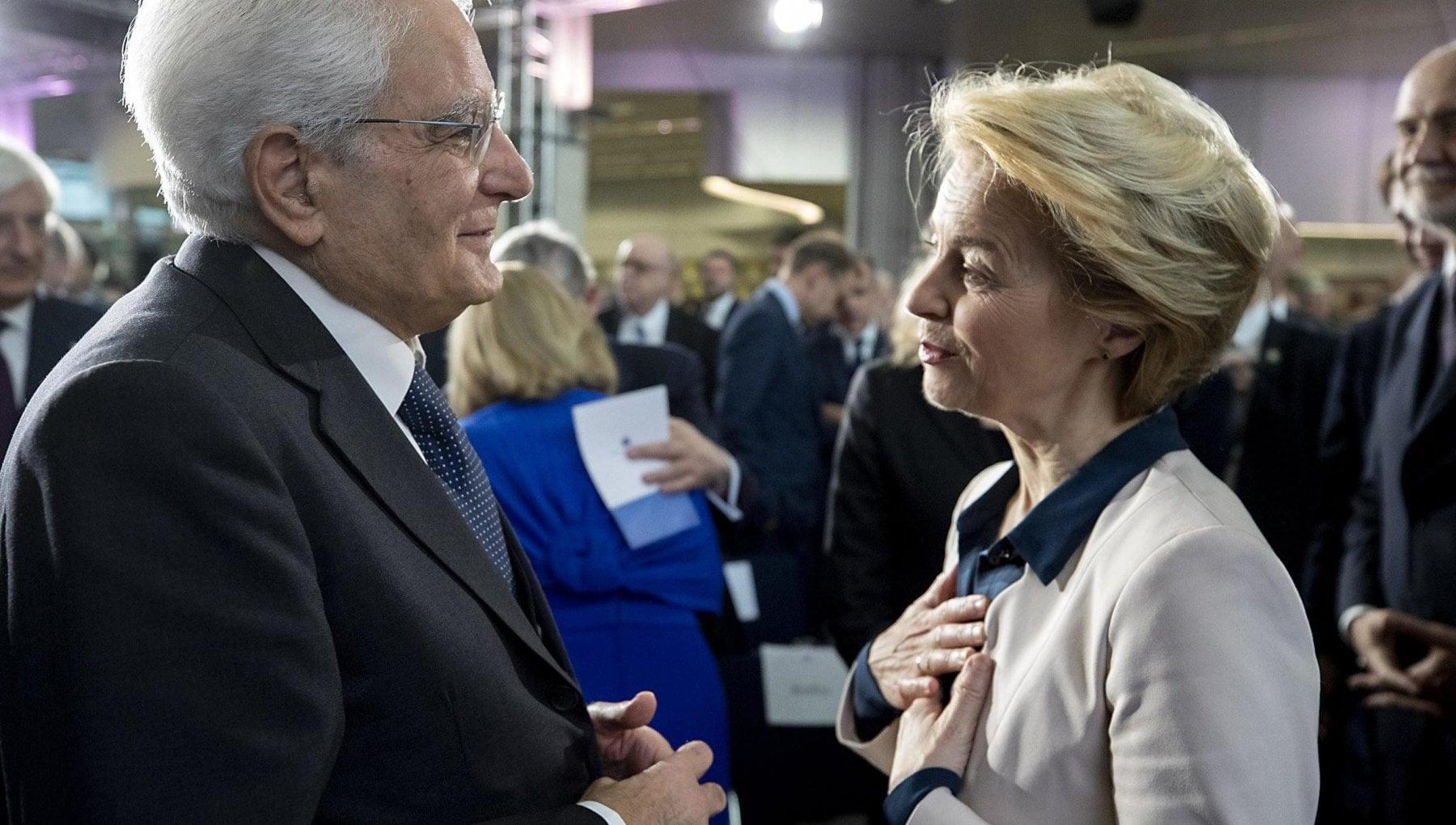"""Ursula Von der Leyen e Charles Michel: """"Tiferemo Italia nella finale"""""""