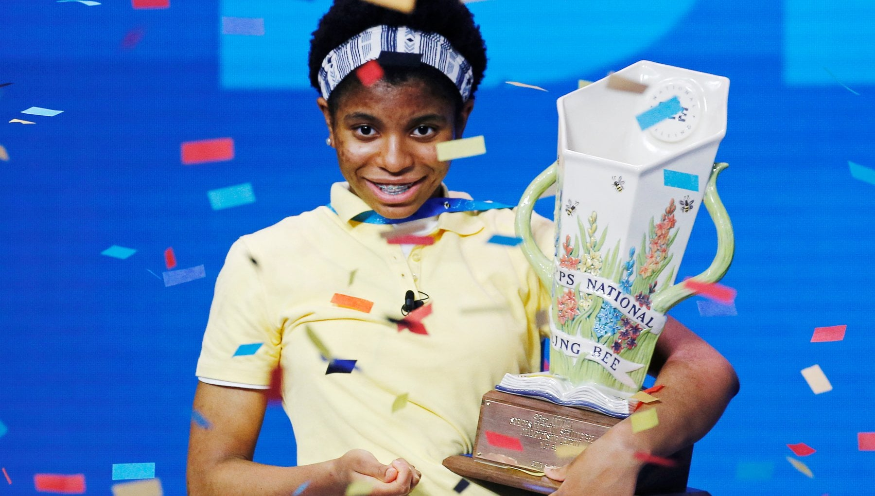 203231987 18f46e18 087c 4c8f af99 32e25bd151f7 - Stati Uniti, la 14enne Zaila è la prima afroamericana a vincere la gara nazionale di spelling