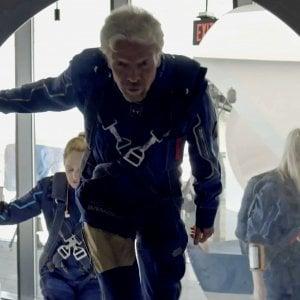"""213130652 2aa1b684 c2be 42fc a126 651e1b8ec6c8 - Branson, viaggio nello spazio e rientro: """"È un sogno meraviglioso"""""""