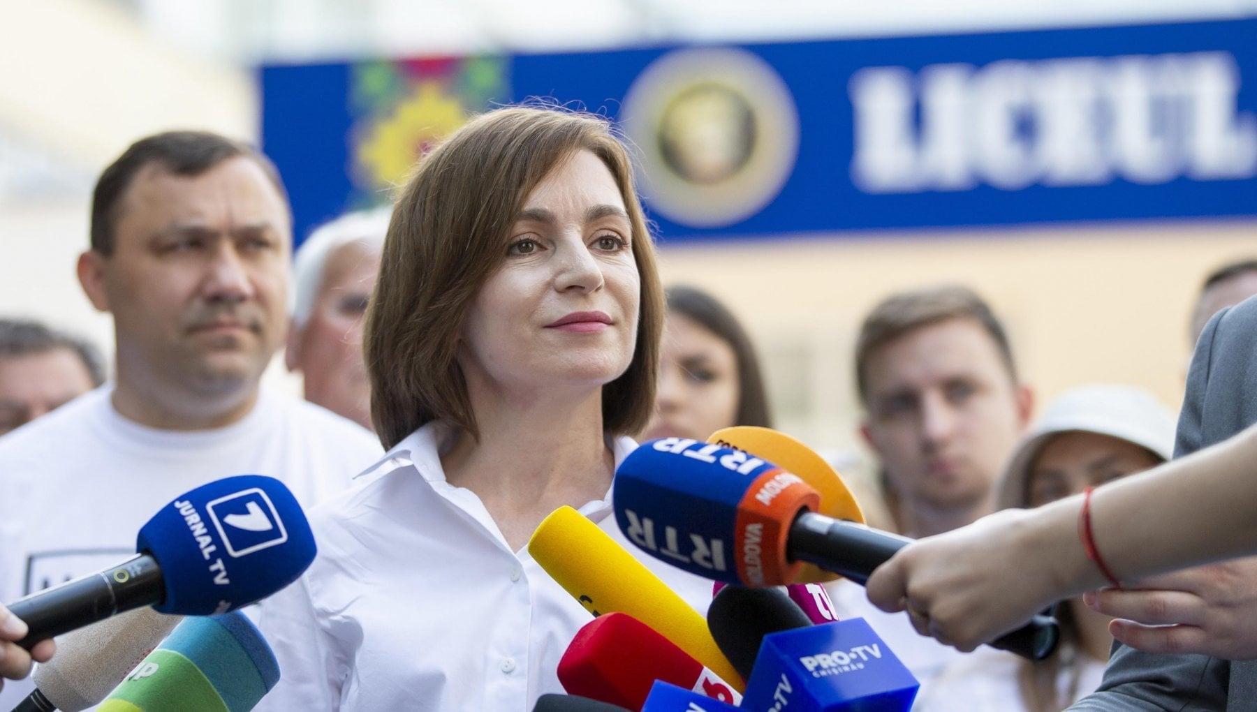 """165949178 a0d4a3b3 389f 44f2 8acd a3c4cf38b617 - Elezioni in Moldova, vittoria del partito europeista di Maia Sandu: """"Sarà la fine del regno dei ladri"""""""
