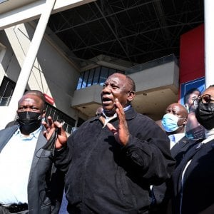 """163151369 5605a6f0 c29e 425d aa6f d65821065607 - Sudafrica, esce dal carcere l'ex presidente Zuma: """"Ha bisogno di cure mediche"""""""