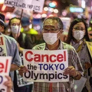 221013449 642c91a1 fc66 4ea3 a1dd 67389653eb7d - Tokyo e l'imbarazzo dei 5 cerchi olimpici per il Covid: i grandi sponsor mollano i Giochi