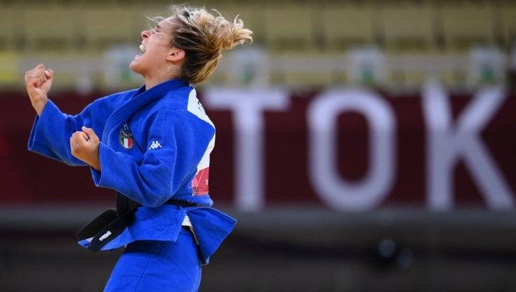 """Judo, Odette Giuffrida bronzo, vince la finale con Pupp: """"Porto la medaglia  a mio nonno, la dipingerà lui d'oro"""" - la Repubblica"""