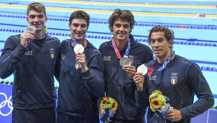 Nuoto, argento per l'Italia nella staffetta 4X100 stile libero - la  Repubblica
