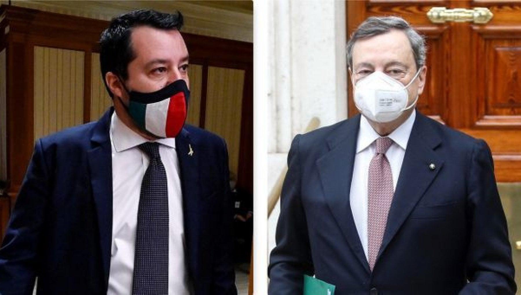 Green pass, misure su scuola e trasporti rinviate alla prossima settimana. Incontro fra Salvini e Draghi dopo il gelo sui vaccini