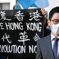 """L'attivista Nathan Law: """"A Hong Kong ormai è un crimine anche solo parlare"""""""
