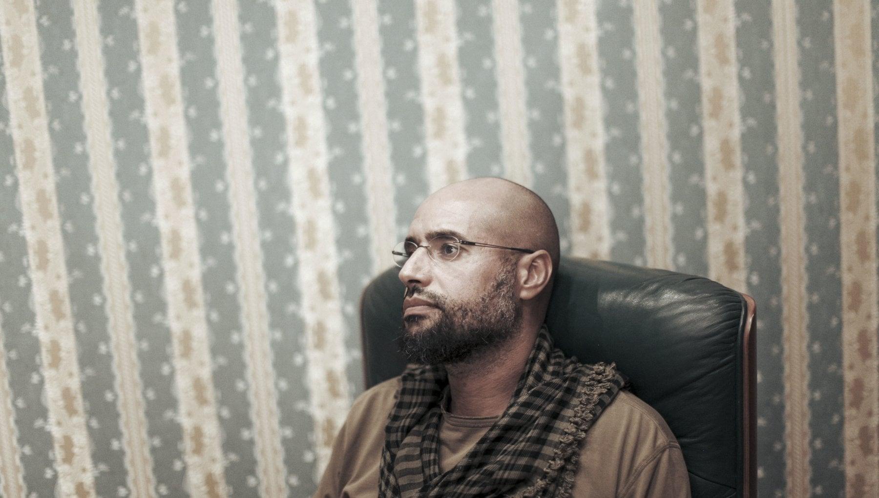 """195909259 4e8d37f4 de15 43a1 bc3a deabbfdf7148 - Ricompare a sorpresa il figlio di Gheddafi: """"Tornerò in politica"""""""