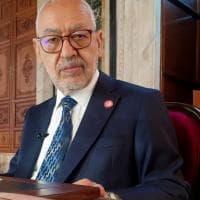 Tunisia, malore per Gannouchi, il leader del Parlamento al centro della sfida politica