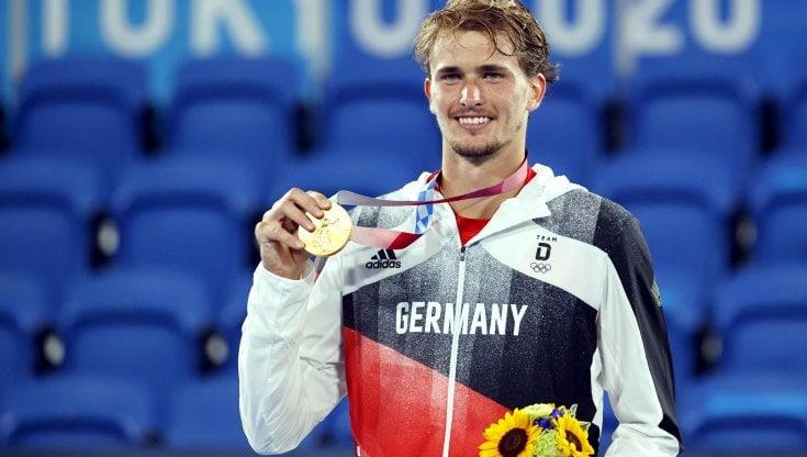 Tennis: Zverev olimpico