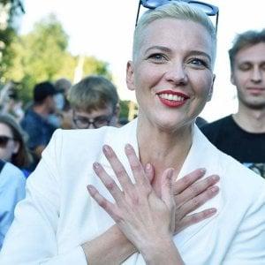 125422932 cf95c1e0 1b78 43e6 86cb 9016b88fdc68 - Bielorussia, condannati gli oppositori Maria Kolesnikova e Maksim Znak