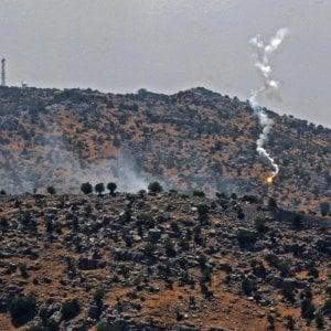 "141856687 3d01c1cd 8e28 4876 b417 a4f3d0fe06e3 - Pioggia di razzi su Israele. Hezbollah alza il tiro: ""Li abbiamo lanciati noi"""