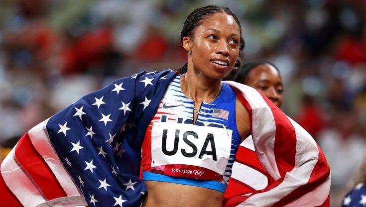 Allyson Felix da record, sono undici le medaglie olimpiche - la Repubblica