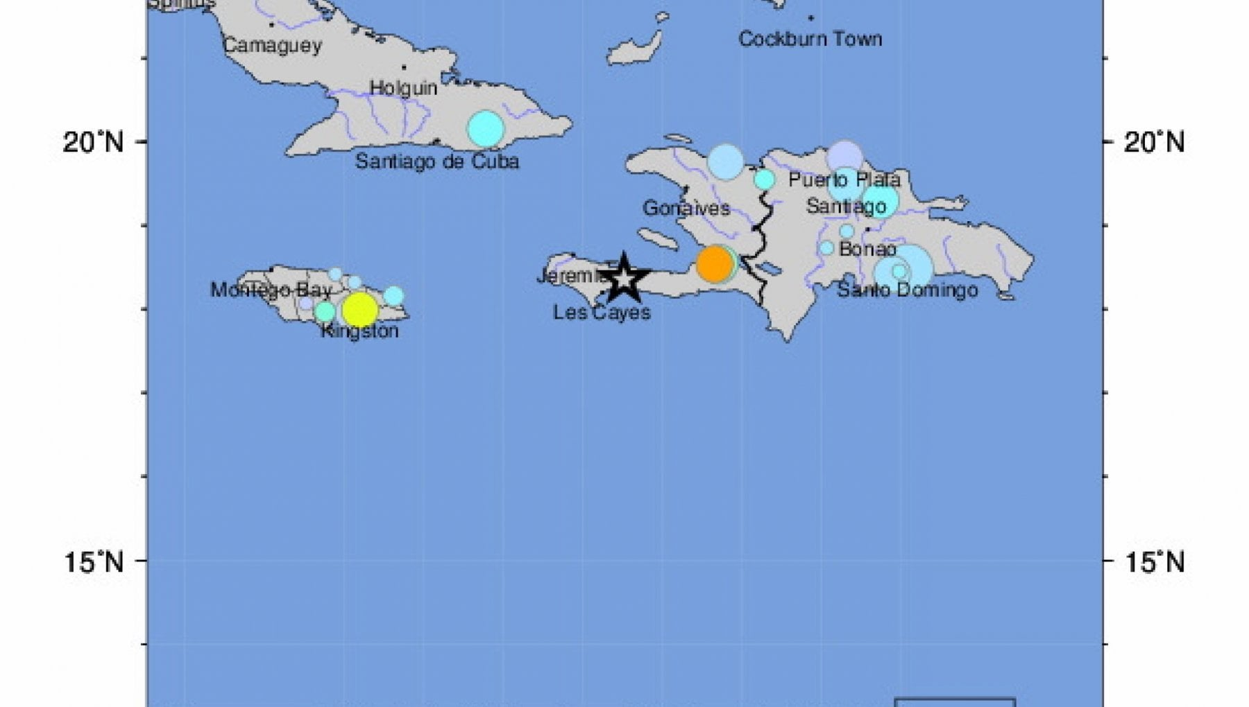 155319002 96011f85 ee8e 4e6a bab7 8cb53a13a8e7 - Haiti, terremoto del 7.2: case crollate, si temono numerose vittime. Allarme tsunami