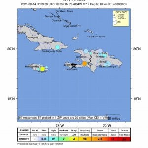 155319239 2fe7c68d 96ff 426d 8b16 e8963e6df811 - il dramma di Haiti, 1.300 le vittime del terremoto. In arrivo una tempesta tropicale