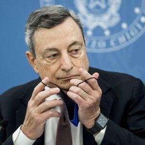 """223101602 a85399eb 96ae 4a7f a5e9 fafc0af7cc66 - Patto Draghi-Macron su difesa e migranti: """"Riformiamo la Ue"""""""