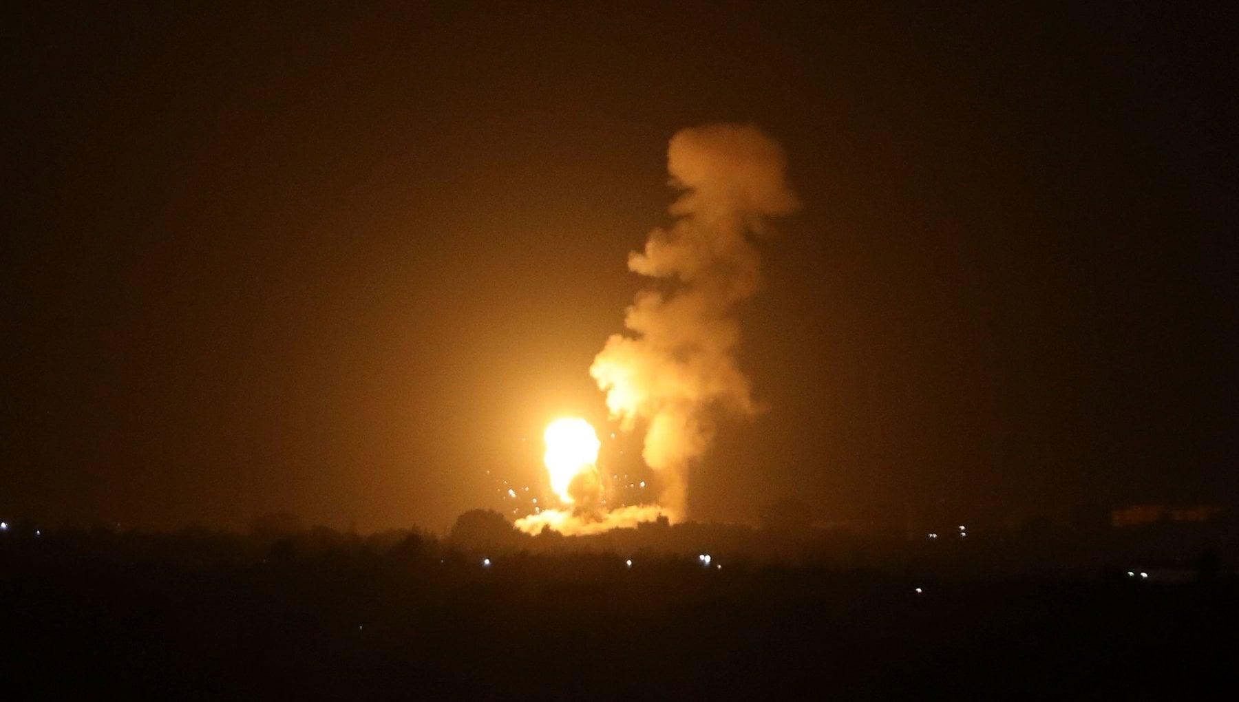 002203951 8616d2e5 48db 4d71 afb1 6b0787320fb7 - Gaza, raid di Israele contro Hamas dopo il lancio di palloni incendiari. Tensione sul Capodanno ebraico