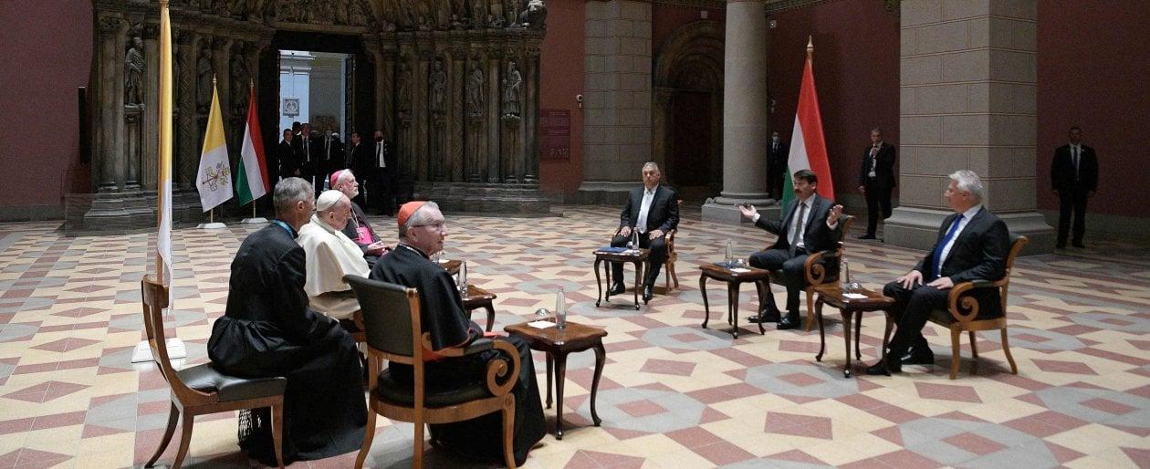 101831802 b79a4c8f 977f 4962 b28e 9e1903cbdc8e - Il Papa a Budapest ha incontrato Orban: minaccia antisemitismo serpeggia in Europa