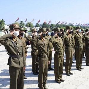 """100357120 544a38a6 5e7f 44c9 b29d 75669e1ed01a - Giapponesi e sudcoreani accusano: """"La Corea del Nord ha sparato missili nel mare Orientale"""""""