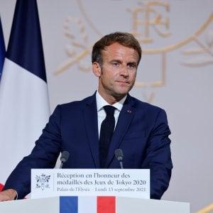 "210308769 c4d464b3 8f86 48d5 9849 30a37eb12e30 - Patto Draghi-Macron su difesa e migranti: ""Riformiamo la Ue"""