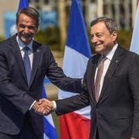 """Draghi: """"Sul clima promesse disattese. Proteggere i deboli dai costi della transizione..."""