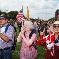 Stati Uniti, un flop la manifestazione dell'estrema destra a Washington: meno di mille in...