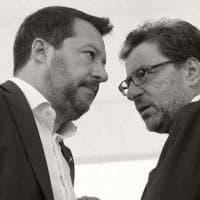 """Green Pass, Giorgetti: """"Estenderlo aumenta la libertà"""". Letta: """"Salvini su questi temi è..."""
