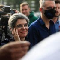 "L'""eco-femminista"" Sandrine Rousseau la sorpresa delle primarie dei Verdi francesi"