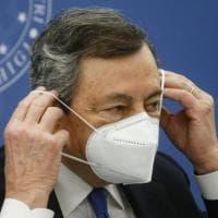 """Draghi all'Onu: """"Emergenza climatica è come la pandemia, agire subito. L'Italia farà la..."""