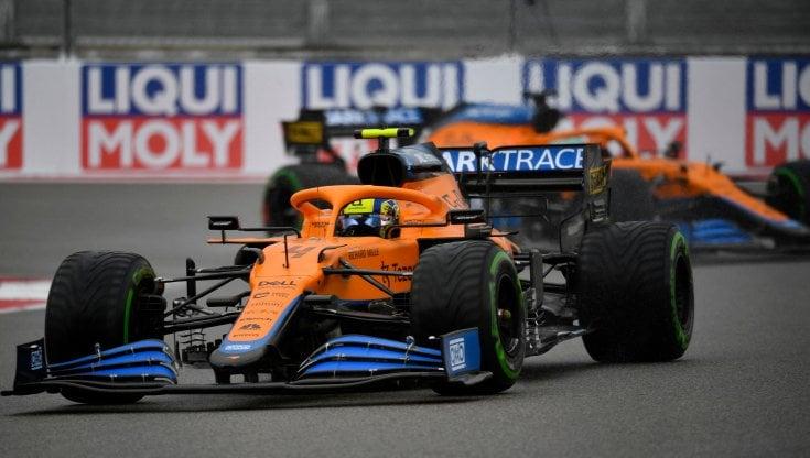 F1, Gp Russia: Norris in pole a Sochi, seconda la Ferrari di Sainz