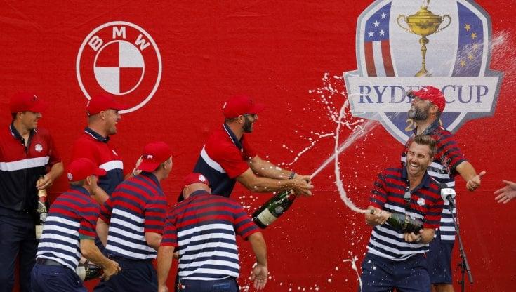 Golf, gli Stati Uniti conquistano la Ryder Cup: debacle per la squadra europea