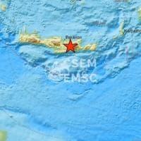 Grecia, violento terremoto a Creta: una scossa di magnitudo 6 nel cuore