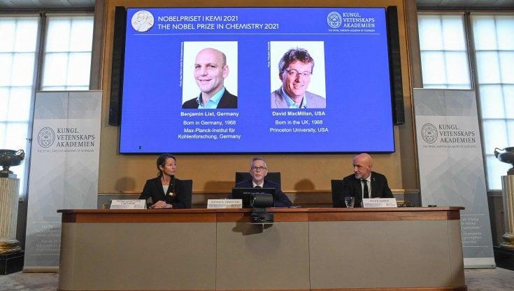 Nobel per la Chimica a List e MacMillan: gli ingegneri delle molecole