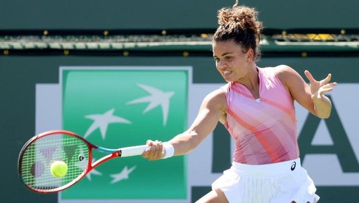 Tennis, Indian Wells: Jasmine Paolini al 2° turno. Caruso e Marcora promossi
