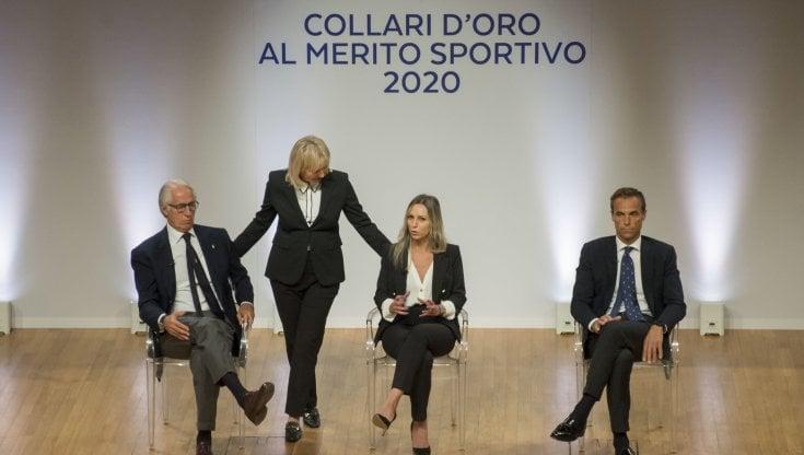 """Collari doro a Milano Malagò: """"Una festa dellItalia"""". Il 20 dicembre a Roma cerimonia con Draghi"""