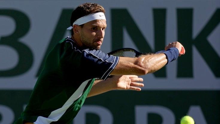 Indian Wells: Dimitrov elimina Medvedev, avanti Tsitsipas e Zverev