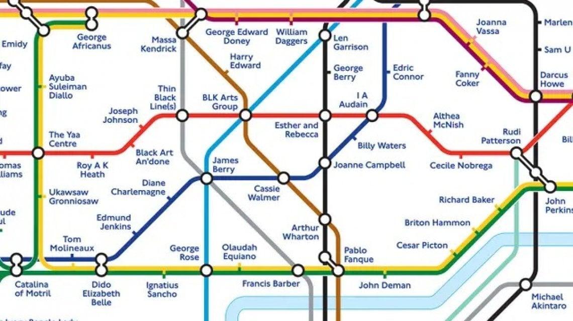 """133548704 eeb7c06b 20ed 43ed b379 90be6d40ed6e - Londra """"ribattezza"""" le fermate delle metropolitana in onore dei neri che hanno fatto la Storia"""