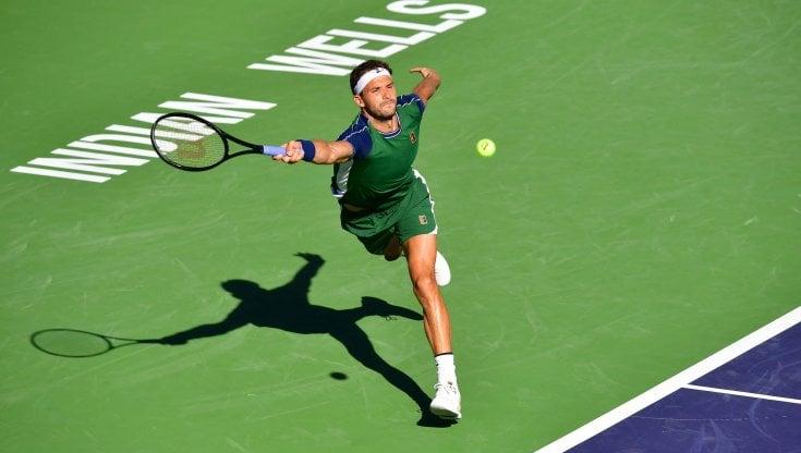 Tennis, Indian Wells: Dimitrov ci ha preso gusto, rimonta anche Hurkacz e vola in semifinale