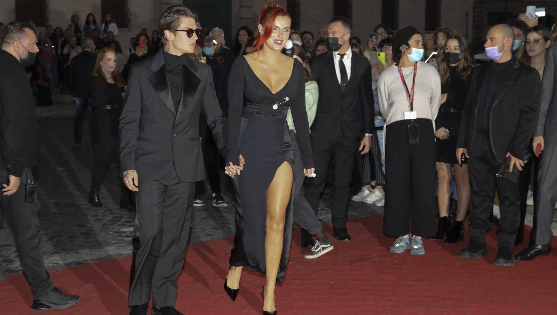 Bella Thorne e Benjamin Mascolo: red carpet di coppia alla festa del Cinema di Roma