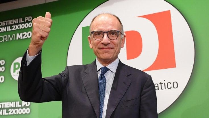 """Ballottaggi, Letta: """"La coalizione larga ha funzionato. Con Calenda e M5S? Siamo per..."""