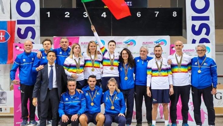 Bocce: ai Mondiali di Alassio tre titoli per lItalia