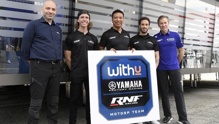 WithU Yamaha, dal 2022 un altro team italiano in MotoGP