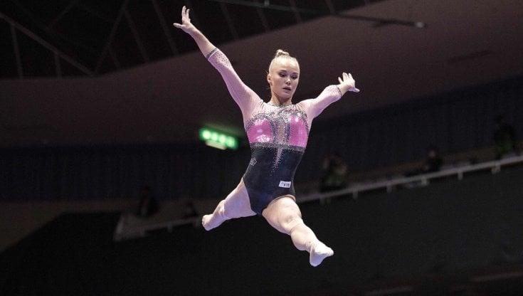 Ginnastica artistica, Mondiali: Melnikova doro, Alice DAmato ottava
