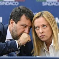 """Centrodestra, spunta un audio di Salvini: """"Da Fdi troppe rotture di co...per mettere in..."""