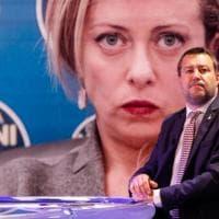 Centrodestra, Salvini all'opposizione su Pass e quota 100. E attacca Meloni