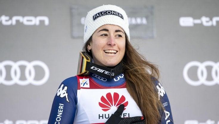 Sofia Goggia portabandiera alle Olimpiadi di Pechino 2022: In quel momento sarò tutti gli italiani