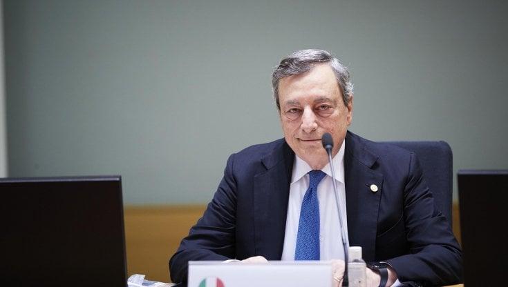 Draghi al Consiglio Ue di Bruxelles: Sullenergia previsti interventi immediati. Serve stoccaggio strategico