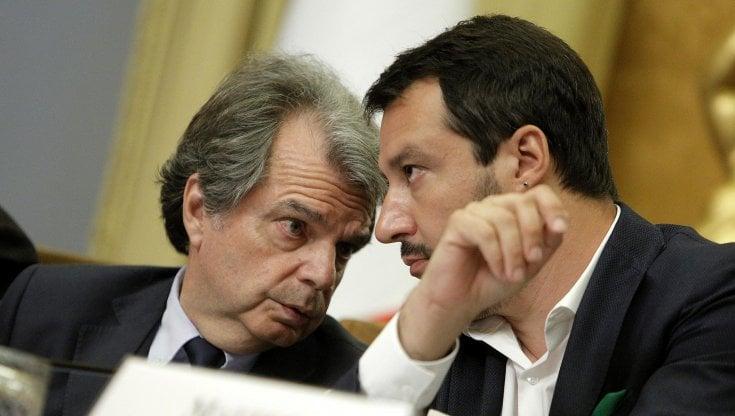 Centrodestra, Salvini: Chiamerò Brunetta, difficile andare avanti senza due forze che valgono il 40 per cento