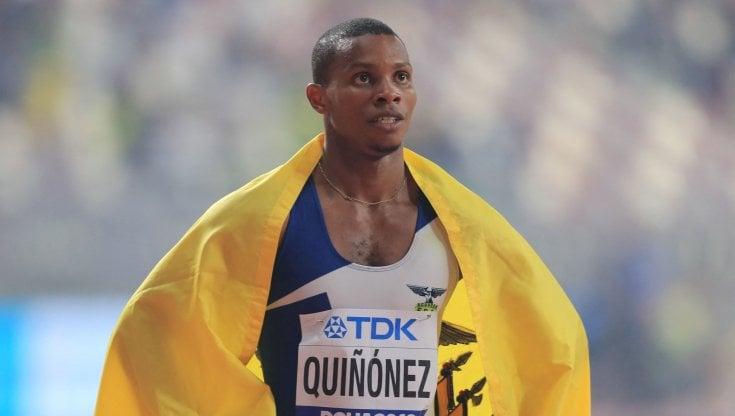 Atletica, ucciso in Ecuador il velocista Alex Quinonez: fu bronzo ai Mondiali di Doha nei 200