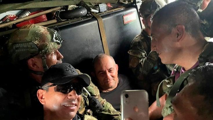 Colombia, catturato il narcotrafficante Otoniel. Il presidente Duque: Paragonabile solo allarresto di Escobar