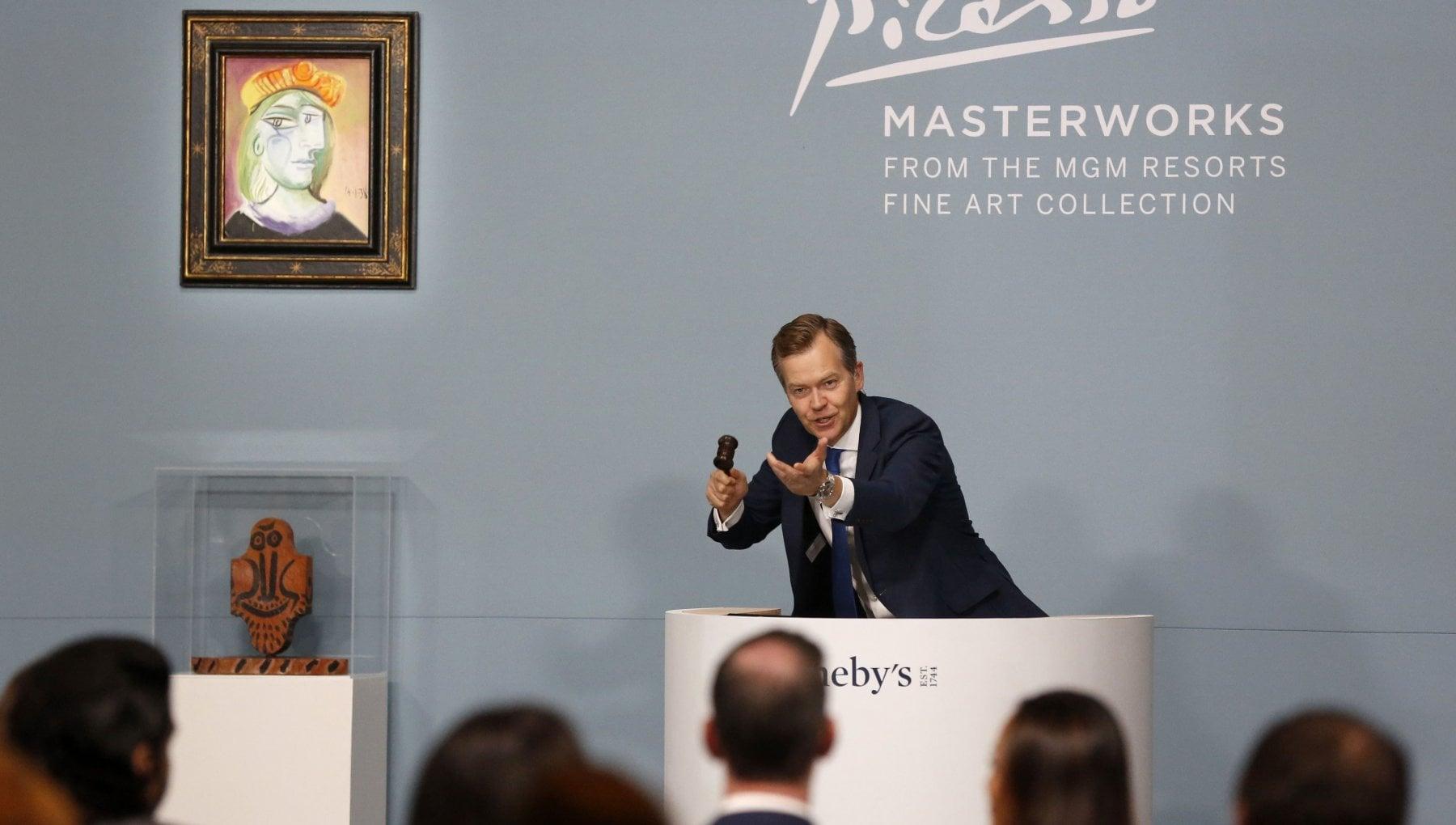 Продадоха картини на Пикасо за 110 милиона долара в Лас Вегас (Видео)